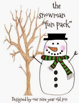 http://www.teacherspayteachers.com/Product/the-snowman-fun-Pack-Created-by-our-nine-year-old-1587666