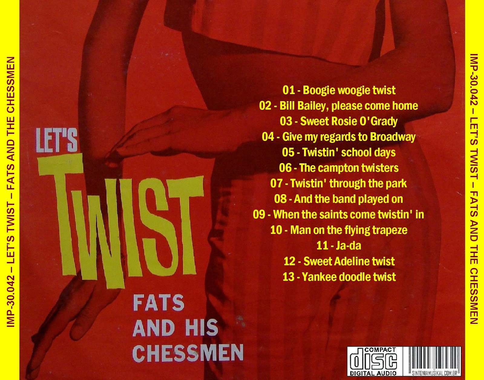 Fats And The Chessmen Dansons Le Twist