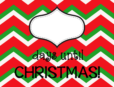 FREE Countdown to Christmas