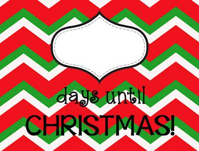 FREE Countdown to Christmas