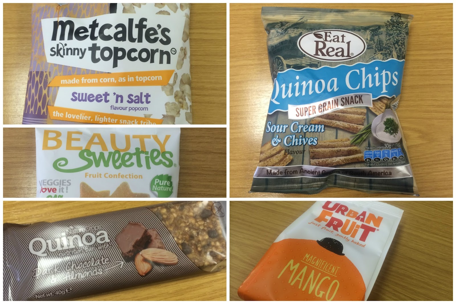 Healthy Snacks suggestions from ASDA and Holland & Barrett