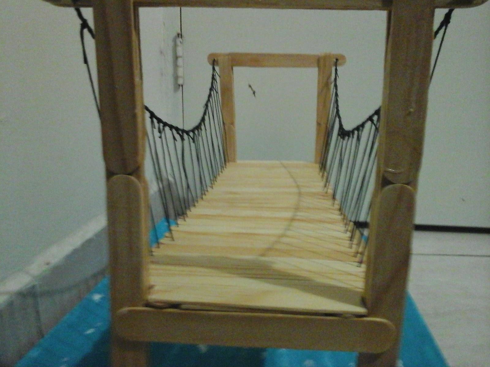 Imagenes de puentes de palitos pictures to pin on - Cosas de madera para hacer ...