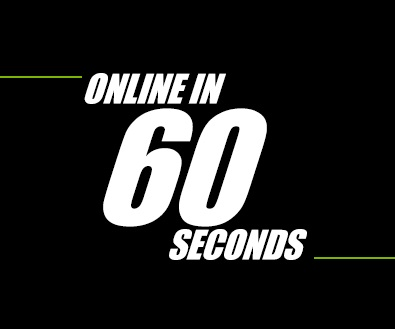 احصائيات 60 ثانية علي شبكة الانترنت