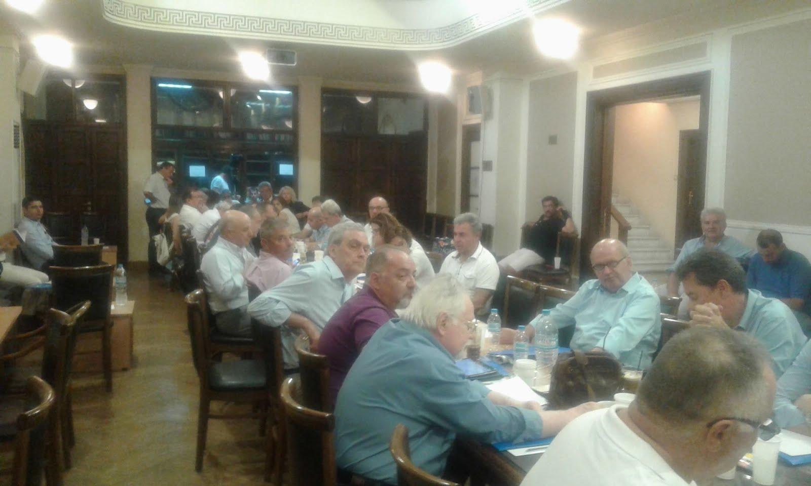 Ολομέλεια Προέδρων Δικηγορικών Συλλόγων, Αθήνα 24-7-2017