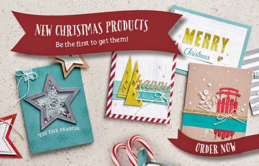 christmas supplement from Zena Kennedy independent stampin up demonstrator