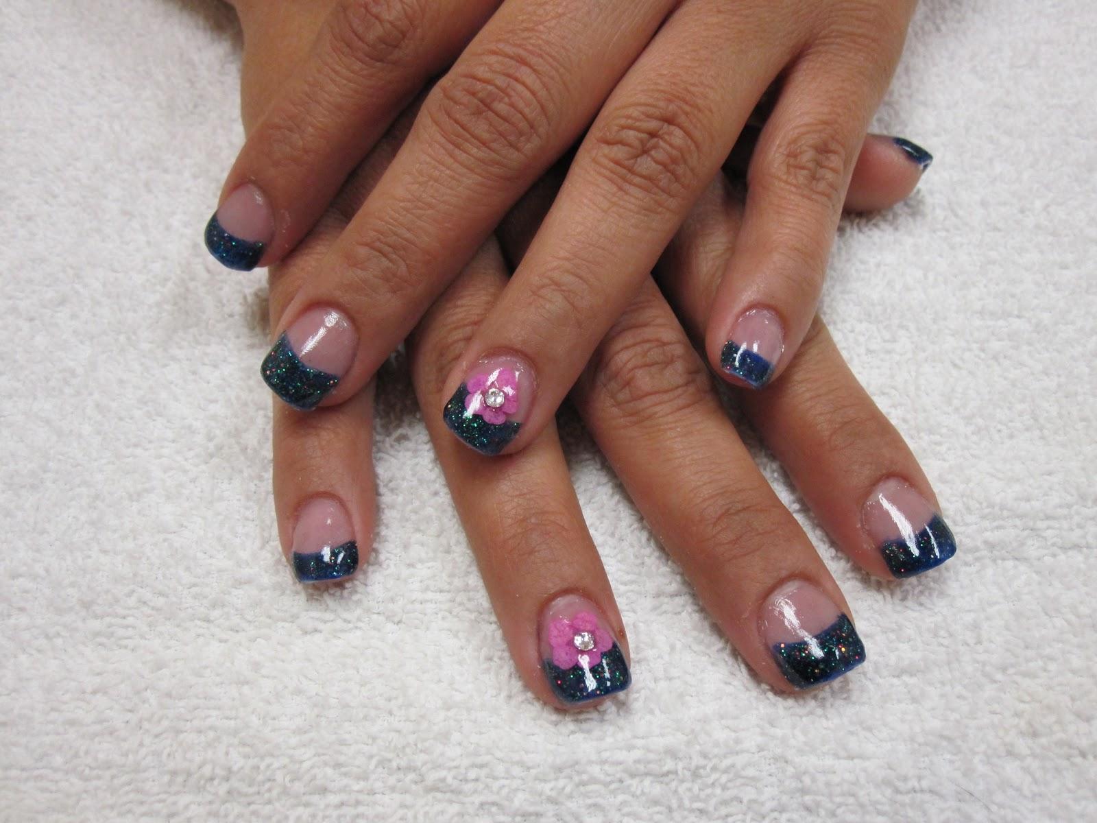 Nail art las vegas embedded flower nails embedded flower nails prinsesfo Gallery