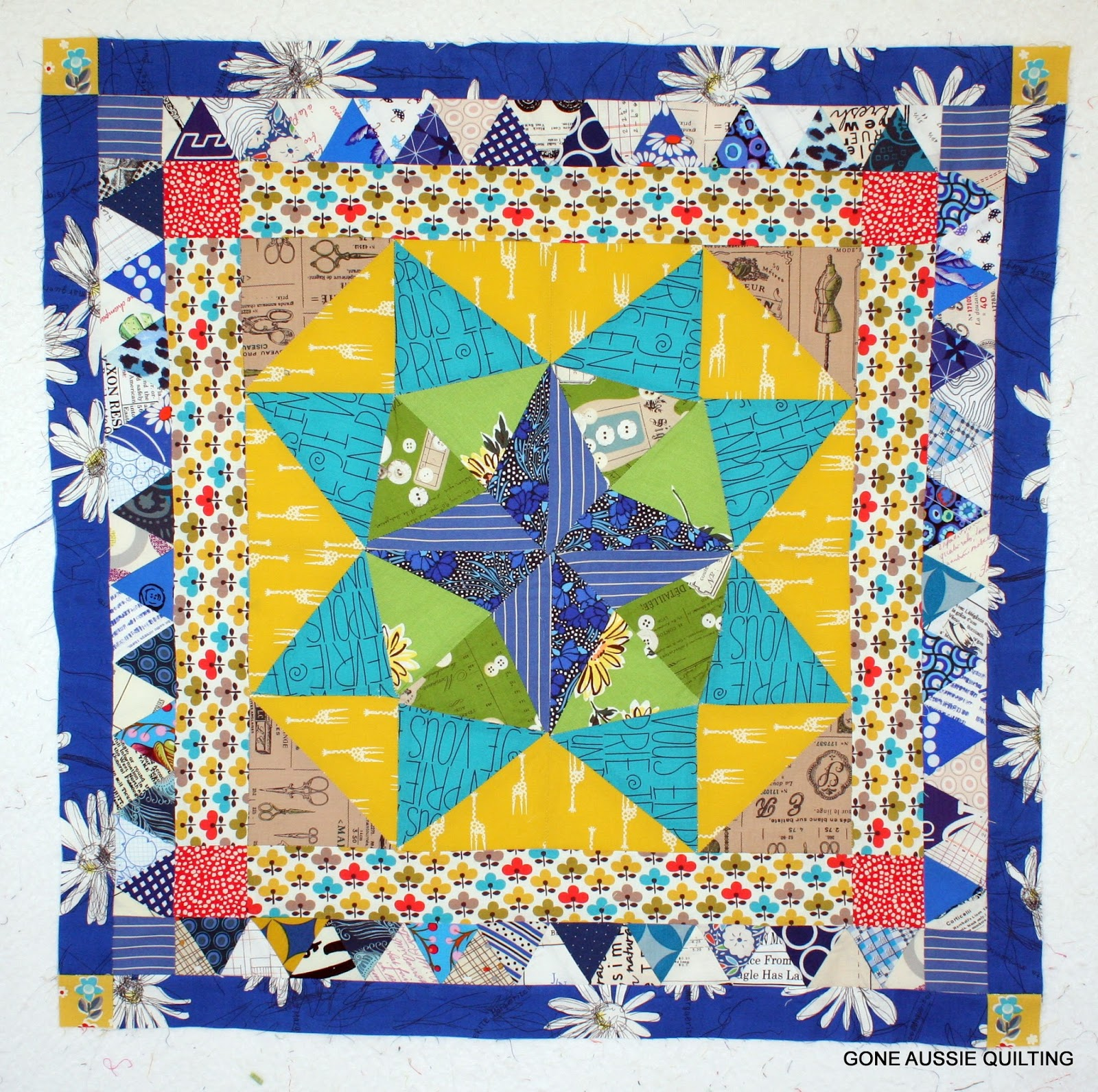 unfinished here blogged me quilt img medallion centre p originally mystery sew