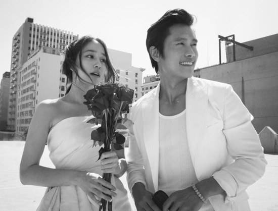 Lee Byung Hun , Lee Min Jung