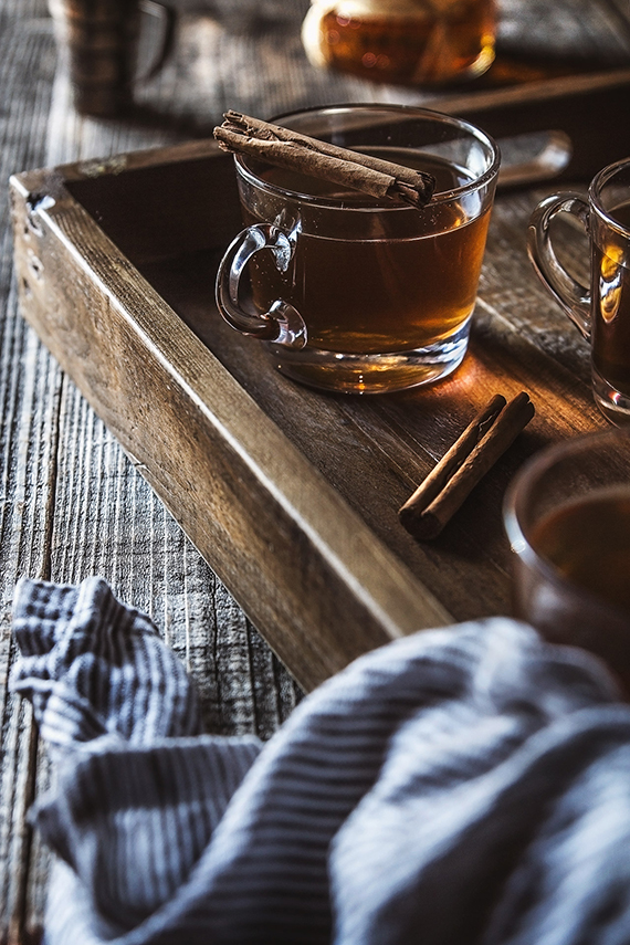 Hot coconut buttered rum recipe by Honestly Yum