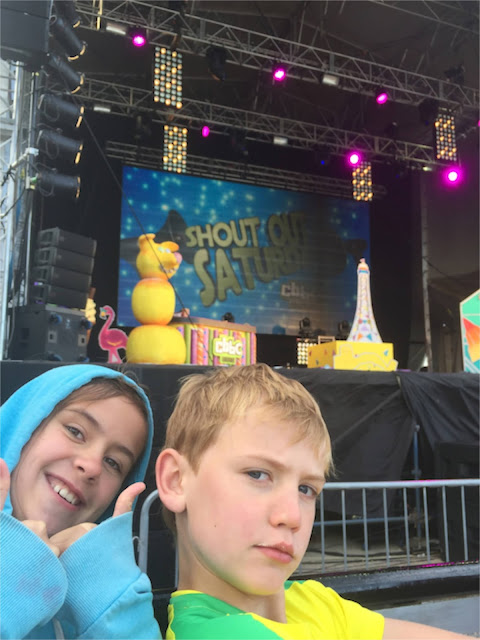 Blackpool CBBC Shout Out Saturday