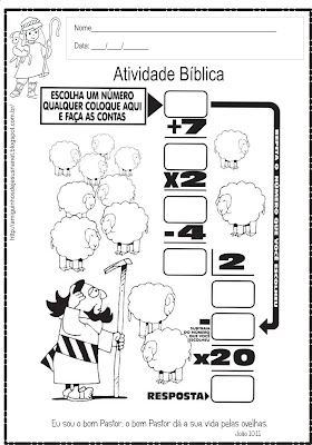 Atividade A ovelha perdida