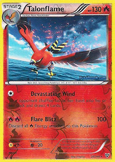 Talonflame Pokemon X and Y Card