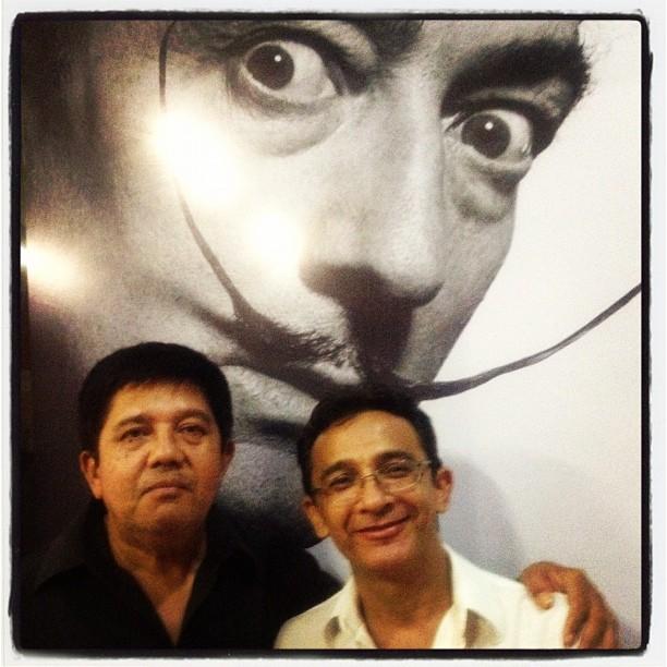 Eu,Dênis Melo & Dalí
