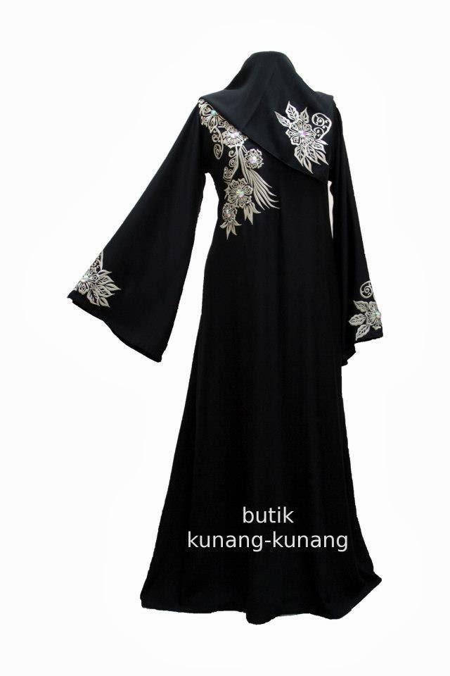 Butik Kunang-Kunang Abayat Qatar Abaya Code A068