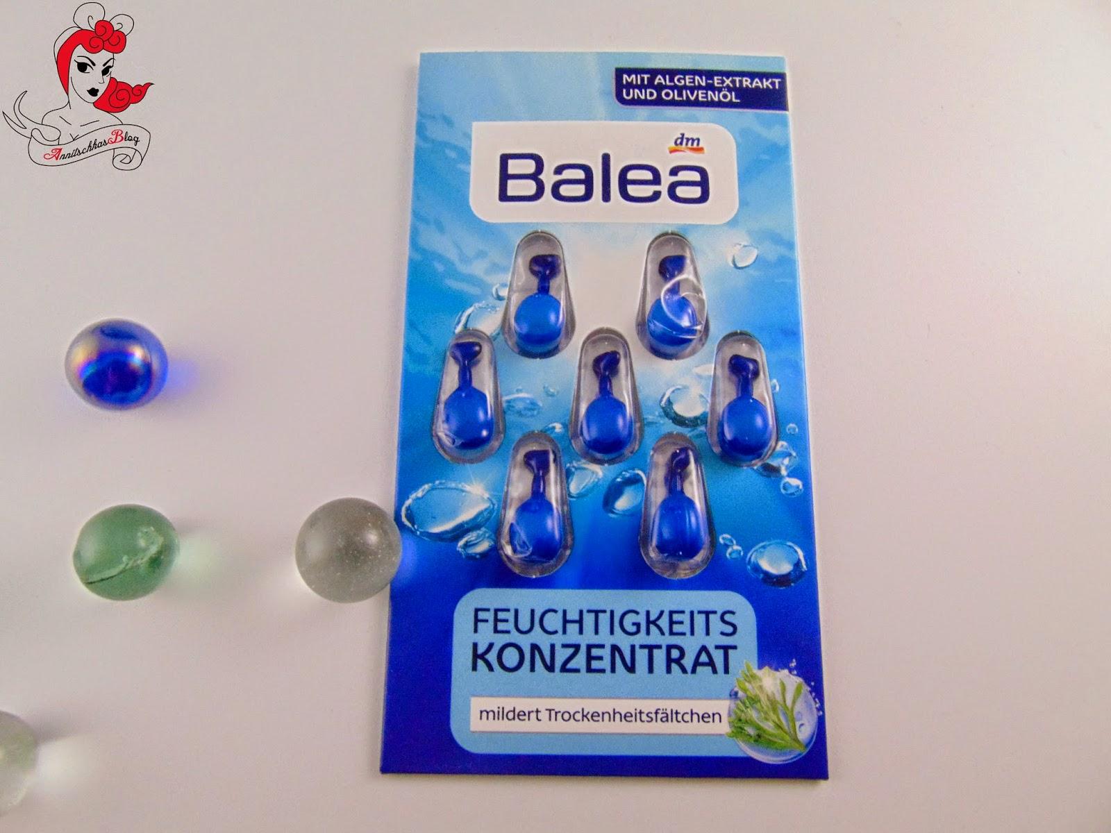 Balea Feuchtigkeitskonzentrat - www.annitschkasblog.de