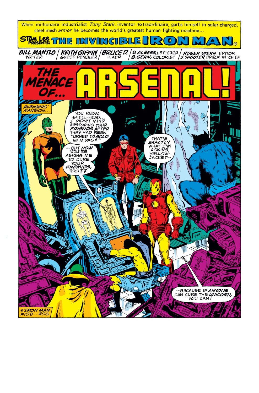 Iron Man (1968) Issue #114 #114 - English 2