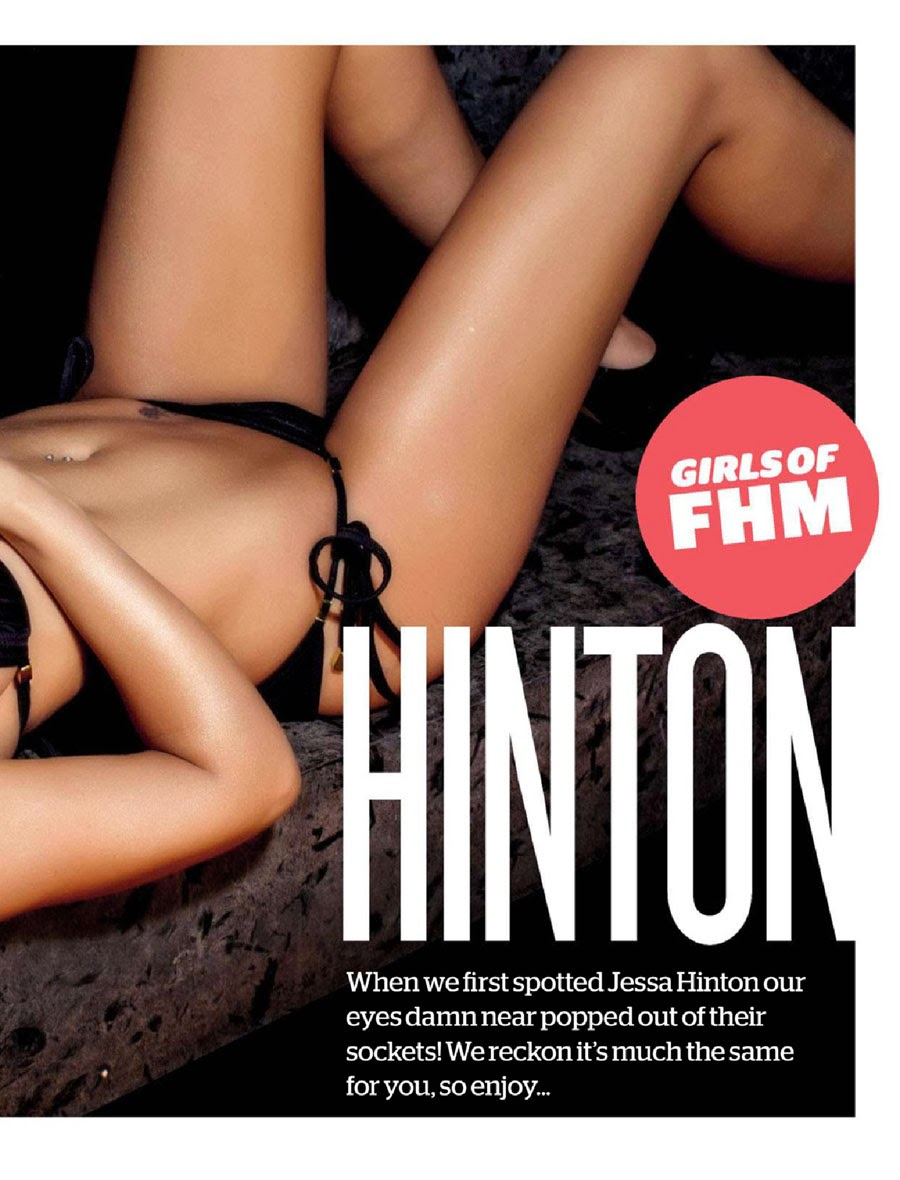 Jessa Hinton's Bikini for March‭ ‬2014‭ ‬Issue of FHM South Africa