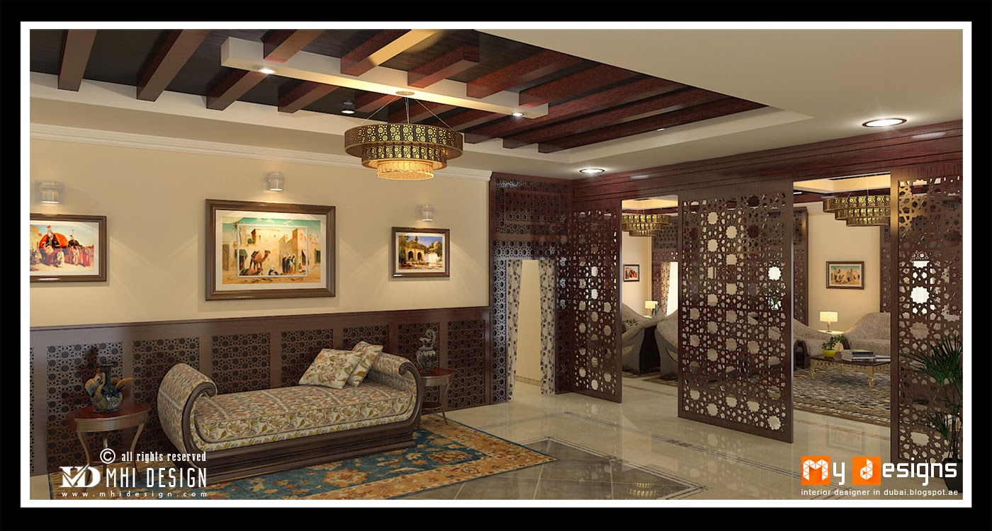 Dubai Arabic Villa Traditional Interior Designs Idea For Your Dream Home