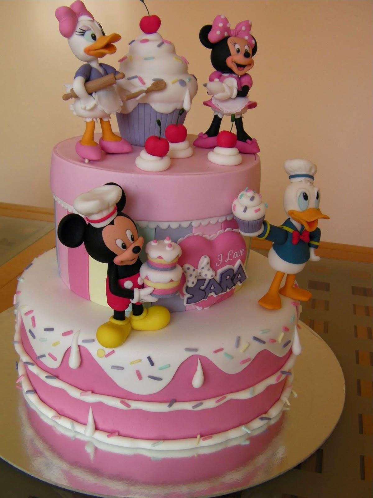 Фигурки для детских тортов своими руками