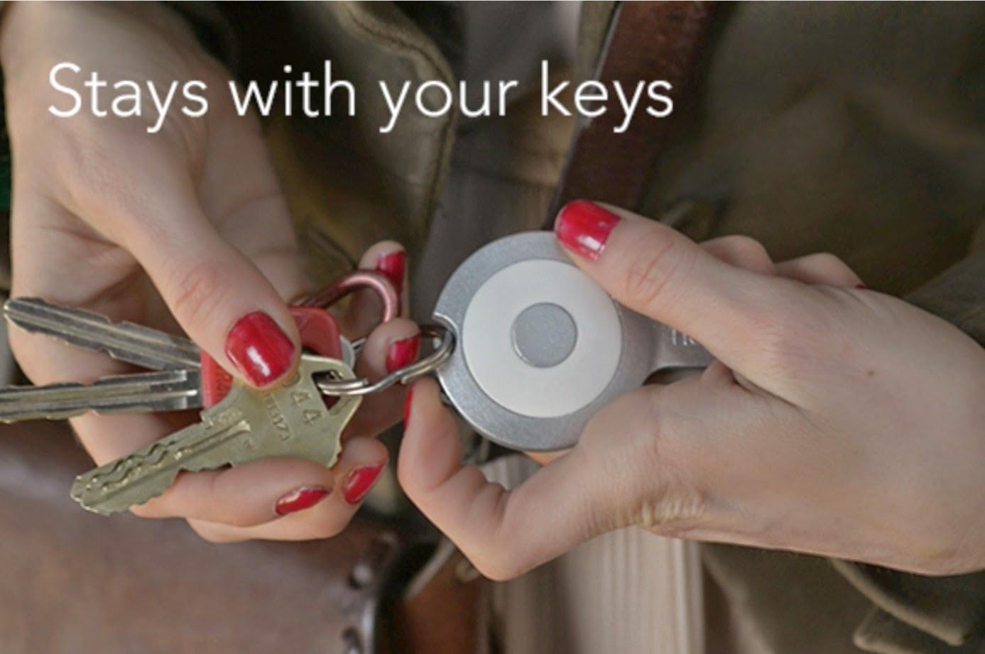 Fixation au porte clés