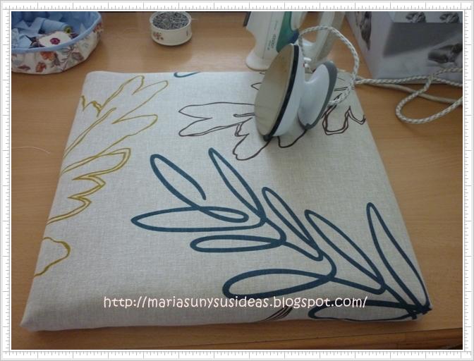 Mariasun y sus ideas como hacer una tabla de planchar peque a - Tablas de planchar pequenas ...