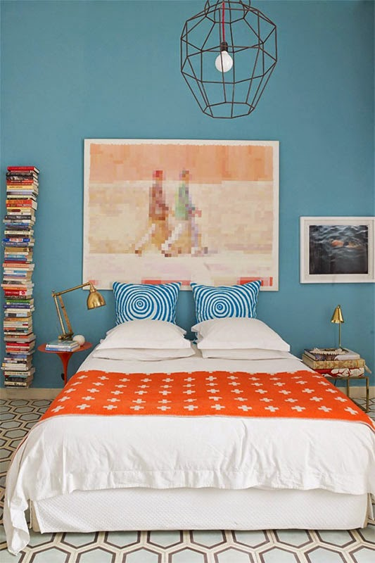 30 inspirations d co pour la chambre blog d co mydecolab for Chambre fushia orange