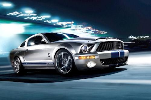 Wallpaper de un hermoso Ford Shelby GT500KR