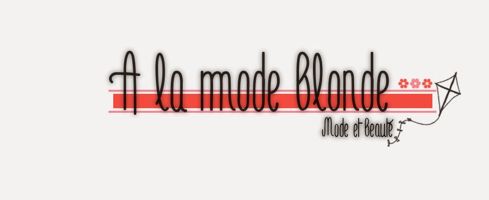 A la mode blonde