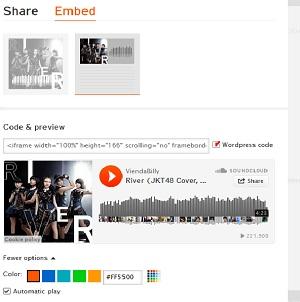 Cara Memasang Musik Kedalam Blog Wordpress
