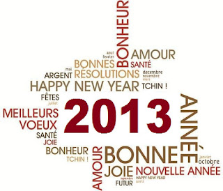 msg Bonne Année 2013