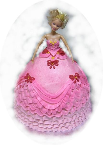 Cake Images Of Barbie : Coolest Cake Ideas: Beautiful barbie cakes