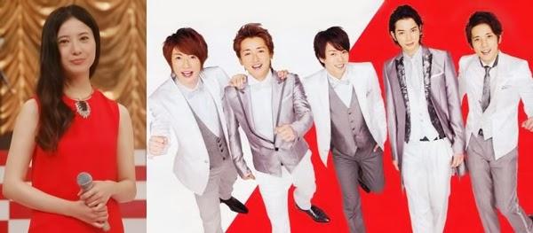 Arashi y Yuriko Yoshitaka serán los presentadores del Kohaku Uta Gassen 2014