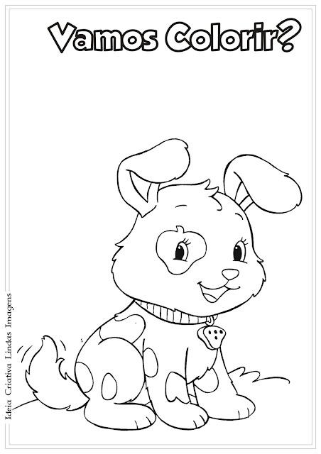 Desenho Moranguinho Rocambole para colorir