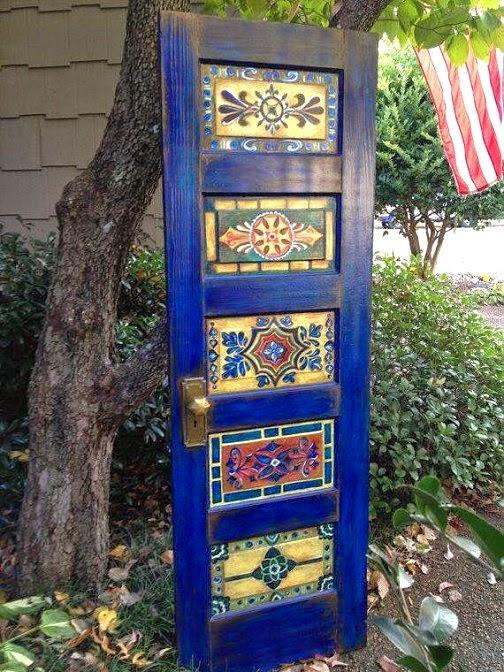 Dishfunctional designs the upcycled garden volume 6 for Garden door designs
