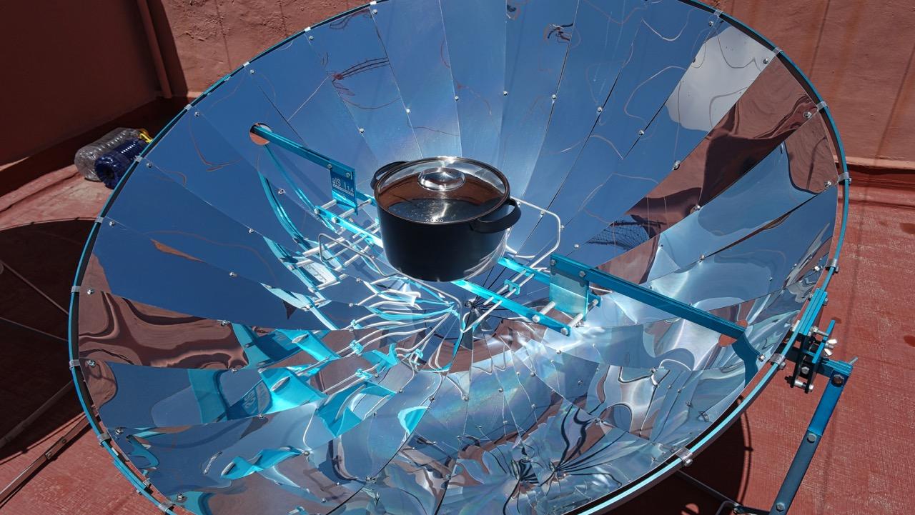 Captura de fotones for Planos para cocina solar parabolica