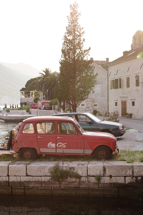 Kotor, KOtor bay, Montenegro, Perast, sunset