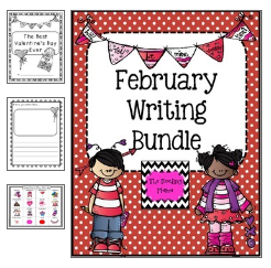 http://www.teacherspayteachers.com/Product/February-Writing-Bundle-Grades-1-2-1033782