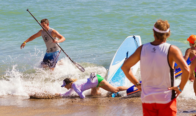 Crashes Carnage Battle of the Paddle 2014 Salt Creek