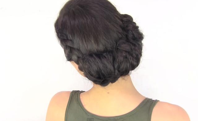 Peinados con Recogidos Elegantes con Trenzas