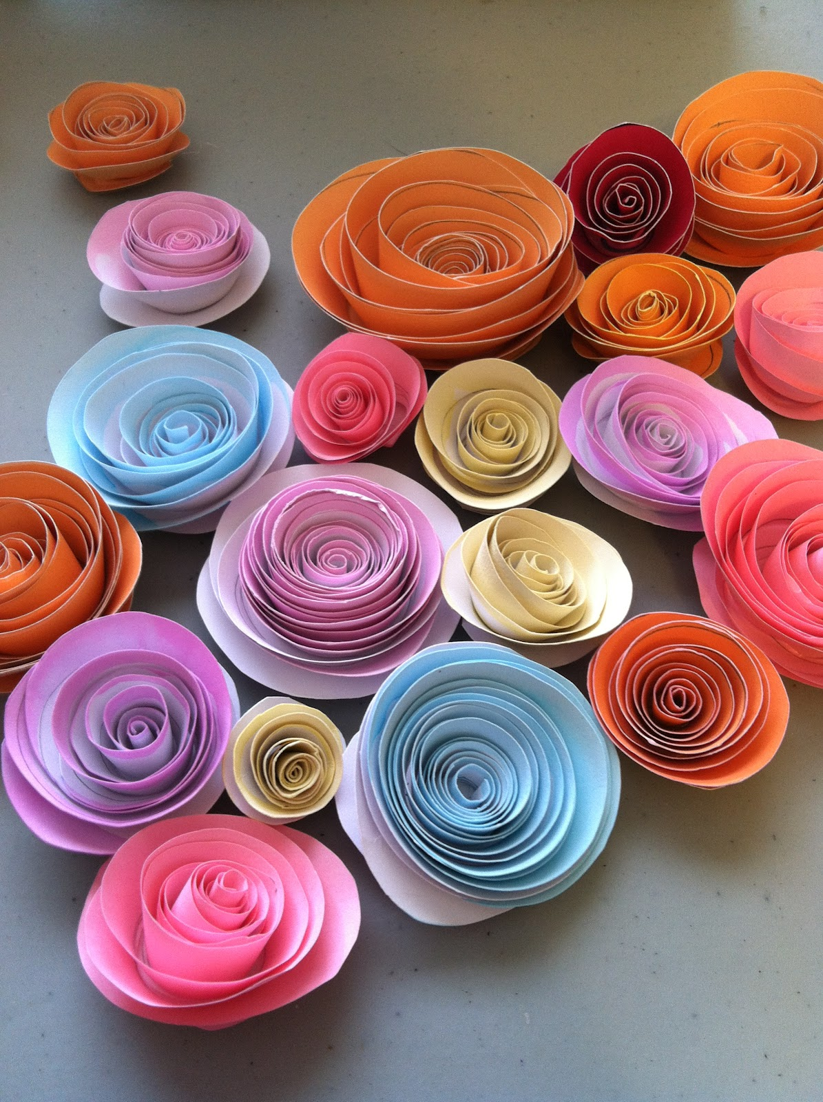 Crafting With Natalie Paper Roses