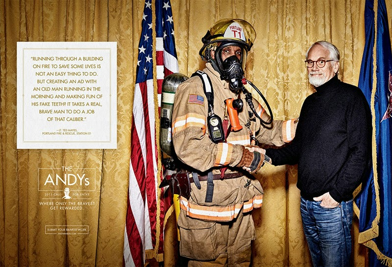 ANDY Awards 2015 Call for Entry firefighter