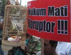 Hukuman Mati Solusi Basmi Penyakit Korupsi
