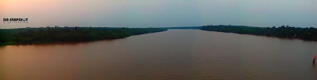 sungai barito panorama manypict barito river panorama