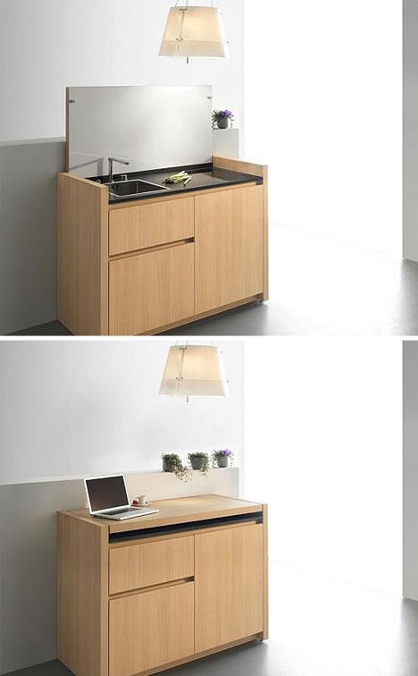 Design Do Futuro Cozinha Mais Compacta Que J Vi