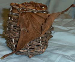 palm stick basket