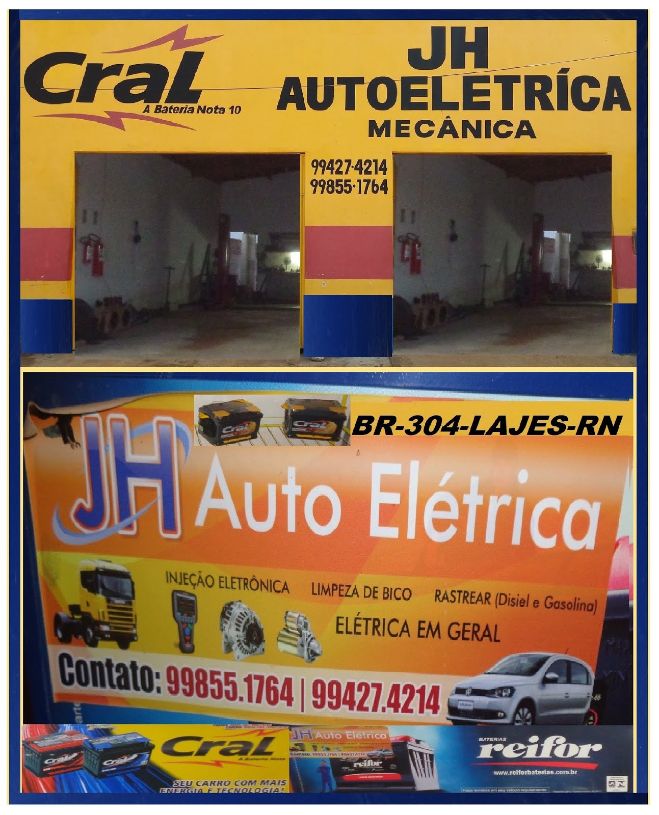 JH.AUTO ELÉTRICA E MÉCANICA