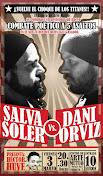 BARCELONA, 3 DE MARZO: DANI ORVIZ VS. SALVA SOLER