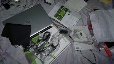 Acer Aspire V5 Unboxing