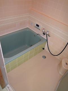 浴室工事 お風呂 タイル